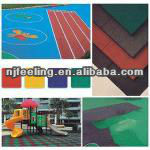Sports Venues/Indoor/Outdoor EPDM & Rubber Flooring Tile(FL-F-Y-021)