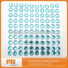 self-adhesive rhinestone crystal sticker sheets for scrapbooking