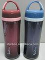 la promoción 436 portátil de doble pared de plástico 500ml deporte botella de agua estándar de la fda