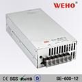 220v 12v 50a smps alta, 12 volts dc transformador de potência