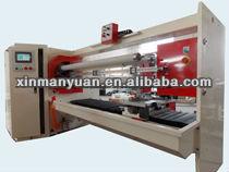 Four Shafts Automatic Rubber,OPP,PVC Carton Sealing Tape Cutting Machine (Tape Roll Cutter,Roll Slitter)