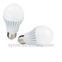 Pure white 6000k 7w 650-700LM E27 12 volt LED Bulbs