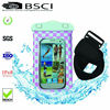 2014 Fashional mobile phone pvc waterproof bag for samsung galaxy s4 i9500