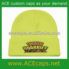 custom knitted beanie hat