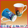 Customized logo porcelain mug cup,ceramic mug cup