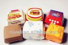 Clamshell burger box