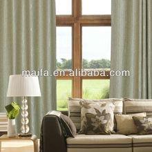 High Quality 100% Polyester Jacquard Voile Curtain Fabric(case migliori e tende da giardino)