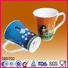 Customized logo porcelain mug cup,ceramic mug cup