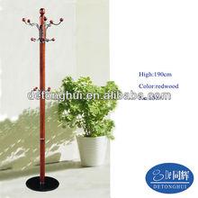Home furniture modern design marble base suit wooden hanger (609#)