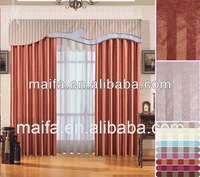 Thermal Curtains With Linings and Valance