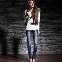 Best selling blue butt lifter tela denim para stock kevlar kosmo lupo k m jeans