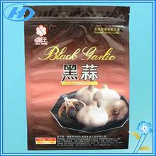 three side seal vacuum plastic food zipper packaging bag
