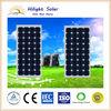 Price per watt solar panel 130W mono for solar power system