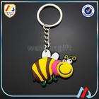 cartoon soft pvc rubber key chain custom