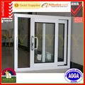 australia estándar de aluminio corredera exterior de vidrio térmico romper la ventana como por as2047