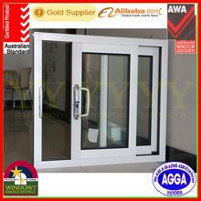 Australian standard Aluminium exterior sliding glass thermal break window as per AS2047