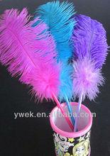 Ostrich Feather Wedding Pen , Ballpoint Pen