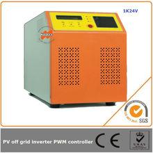 1000W 24V micro control power inverter off grid solar charge controller inverter pure sine wave AC 220V 230V 240V