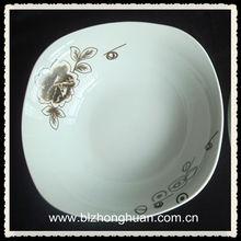 """6"""" microondas seguro quadrado tigelas de porcelana"""