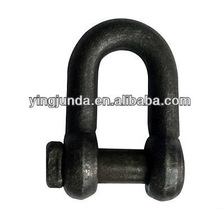 d shackle US trawling shackle pin S-2131 marine hardware shackle manufacturer