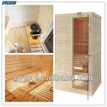 Finland Spruce Wood Dry Sauna Room Indoor