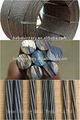 Estate usado material de construção metálica 12.7mm 7 arame de aço pc vertente
