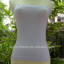 Hot sale custom women seamless spandex sexy tube top