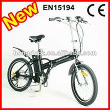 mini folding e bike with EN15194