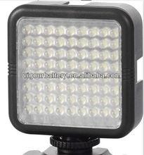 Professional Audio Video LED shooting Light LED-1072 with 72pcs LED