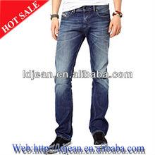 2015 fashion metal denim button public man jeans male(LDqe84)