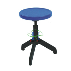 LC-186 cheap round stool, cheap lab stool, cheap plastic stool, with adjustable height 440-480mm