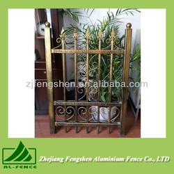 2014 New minimalist classical aluminium fence China
