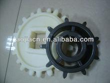 Plastic nylon transmission chain sprocket wheel