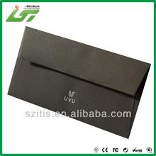 black mini kraft paper envelopes factory