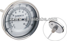 WSSZ2FA75 75mm all stainless steel reset bimetal thermometer