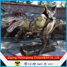 Amusement Park Equipment Animatronic Dinosaur Rides
