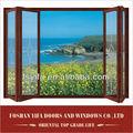 Residencial de alta qualidade bi- dobre varanda portas de vidro dobráveis