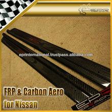 For Nissan Skyline R33 GTS GTR Carbon Fiber Door Sill Steps Panel