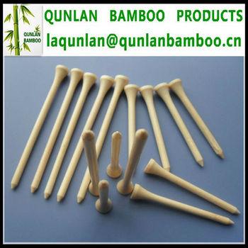 Customized Natural Bamboo Golf Tees