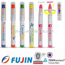 Promotional highlighter with ball pen/highlighter pen