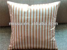 Fashion satin fabric printed cushion for sofa