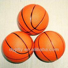 Mini rubber toy basketball