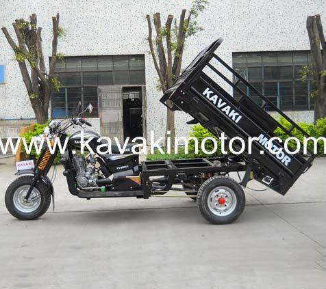 أسود دراجة ثلاثية العجلات الثلاثلا kavaki 200cc/ شحن الدراجات النارية