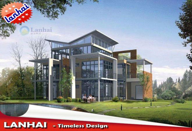 Modern House Elevation Designs, View modern house elevation, Lanhai ...