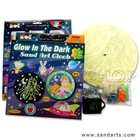 Sand Art Clock Kit - Glow-in-the-Dark