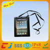 Eco-friendly underwater sports pvc lining waterproof bag for ipad with string