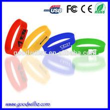 Hot sale Cute Bracelet USB flash Memory