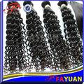Haut grade!! Extensions de cheveux crépus cheveux bouclés brésilien prix de gros