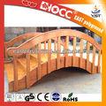 Paisaje Garden puentes, De jardín de madera de puentes, Equipo de jardín de infantes