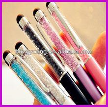 New design crystal metal pen
